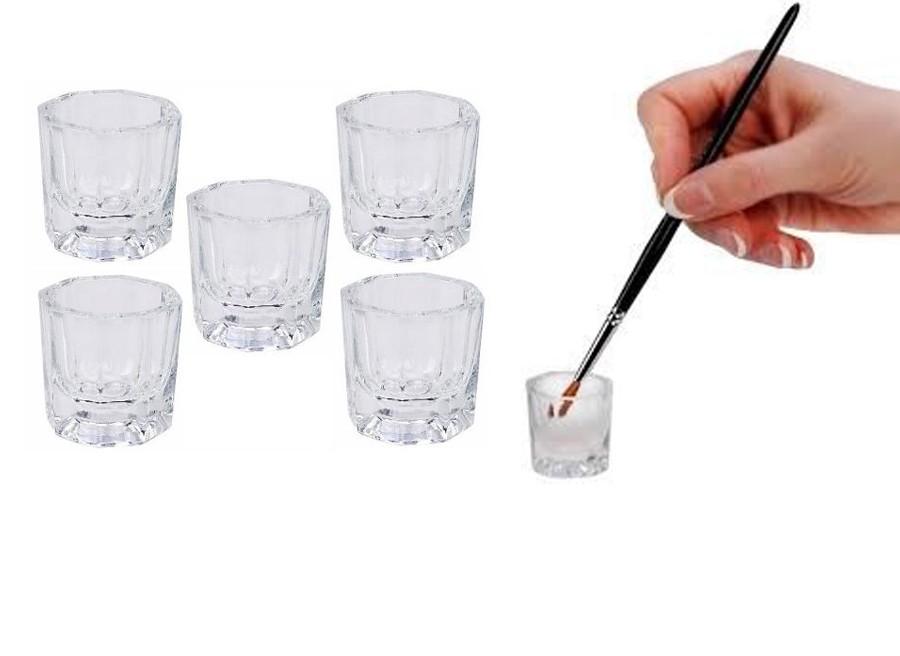 Copo Pequeno Dappen - Para Misturar Pó Liquido Monomer