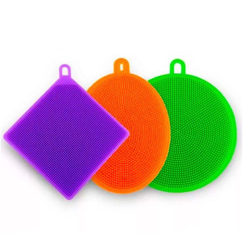 esponjas de silicone