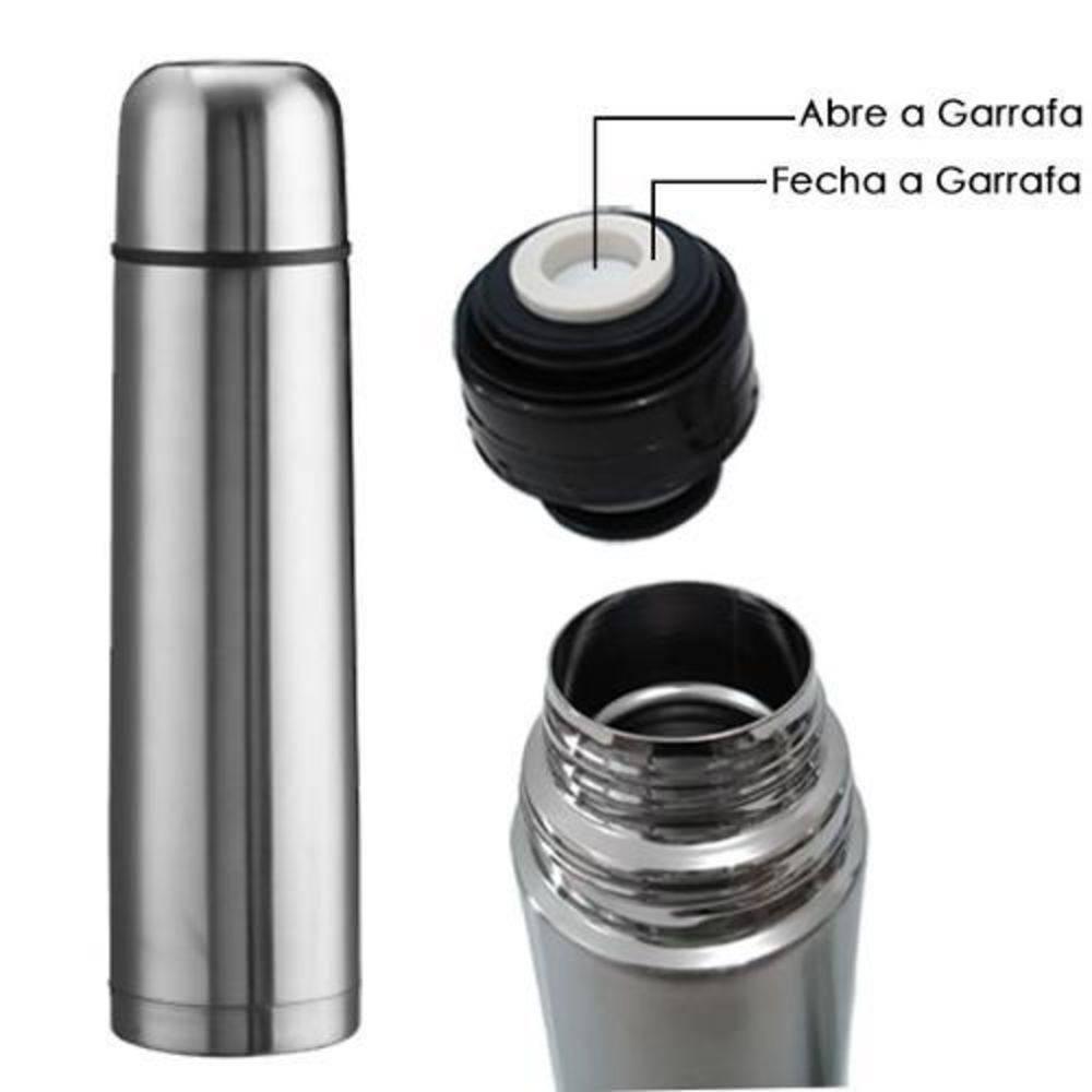 Garrafa Térmica Inox 500ml Inquebrável