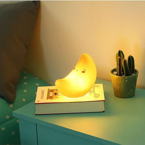 Luminária Infantil LED sem Fio Lua - Orb