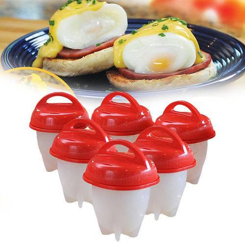 Magic Egg Forma Cozinhar Ovos Fácil Fit Silicone Oferta