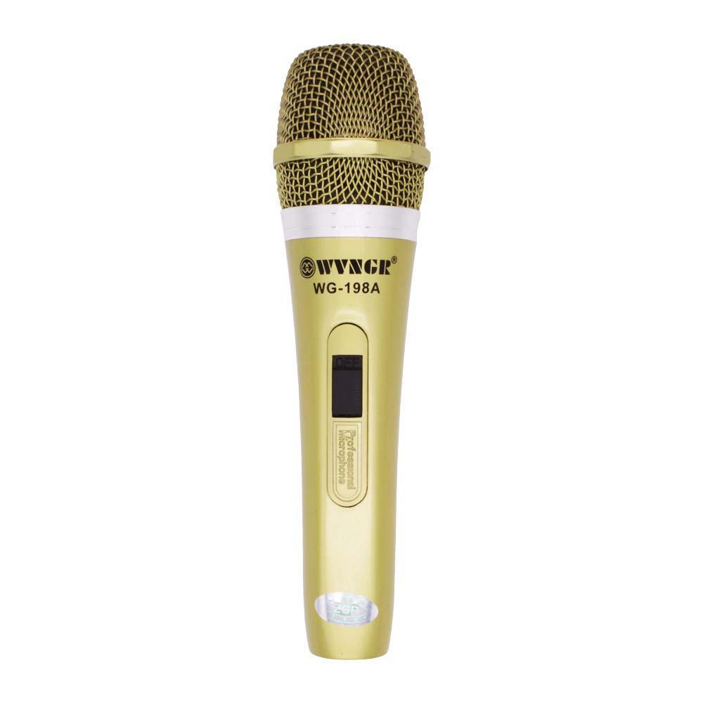 Microfone Profissional Wg-198A Wvngr
