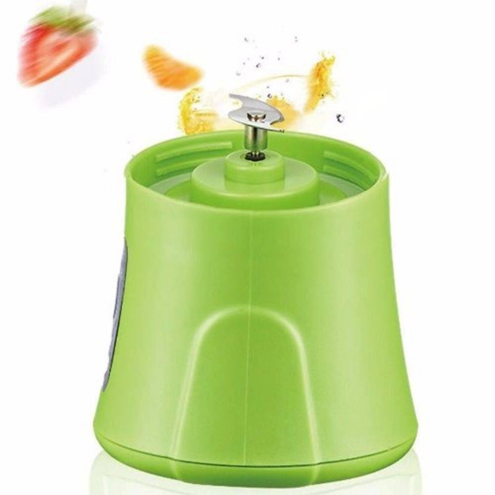 Mini Liquidificador Portatil Recarregavel Leve E Beba verde