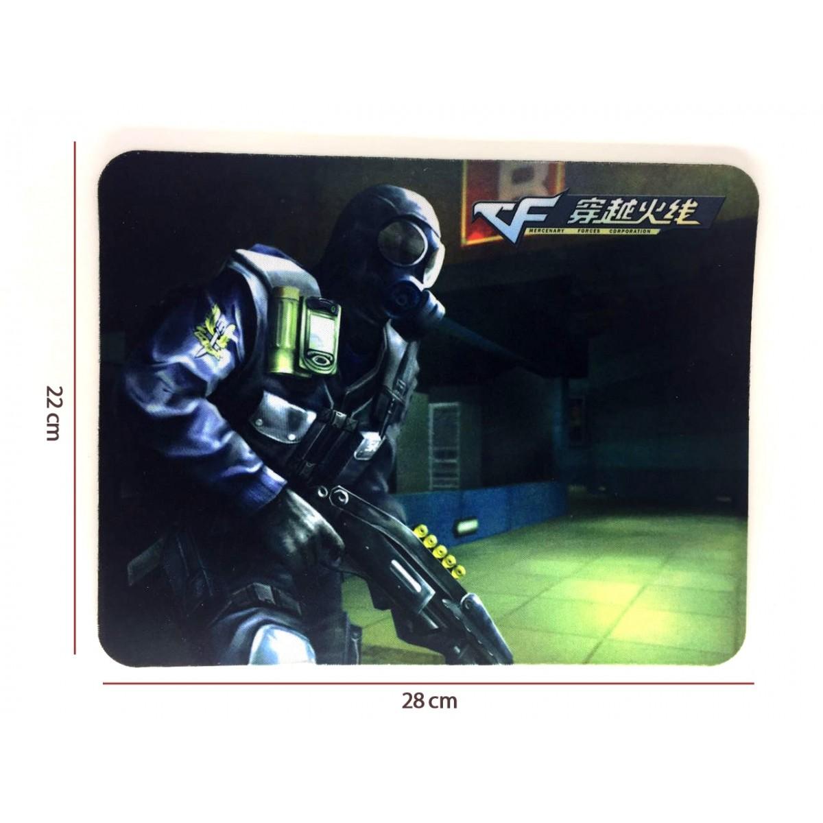 Mouse Pad Gamer Z6 28cmx22cm