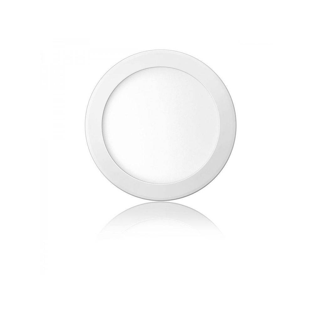 Painel Led Plafon Embutir Slim Redondo 25w Branco Frio