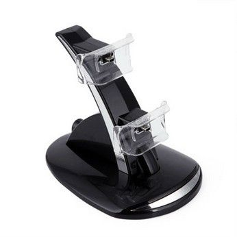 Dock Suporte Base Carregador 2 Controles Ps3 Playstation 3