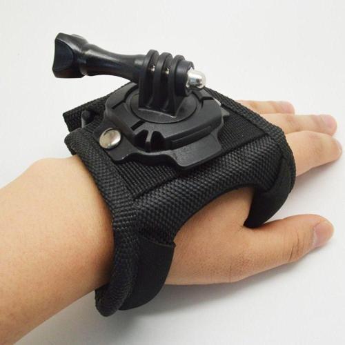 Suporte Para Mão Tipo Luva Com Giro 360 Graus Wrist Para Gopro E Sjcam