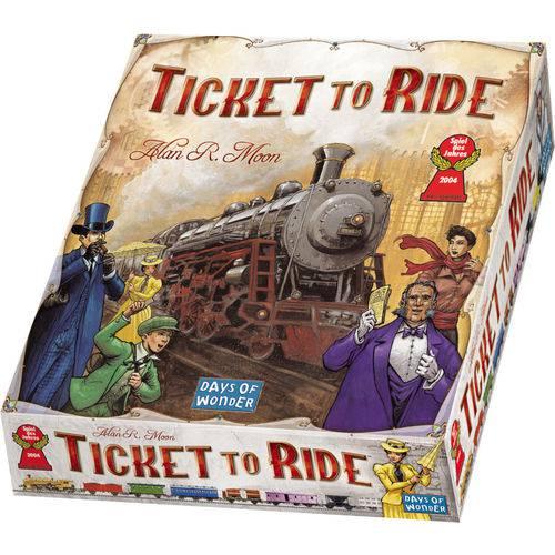 Ticket to Ride - Jogo de Tabuleiro - Galapagos