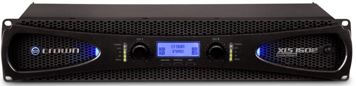 Amplificador de potência 2 canais CROWN XLS 1502-2BR 1050W