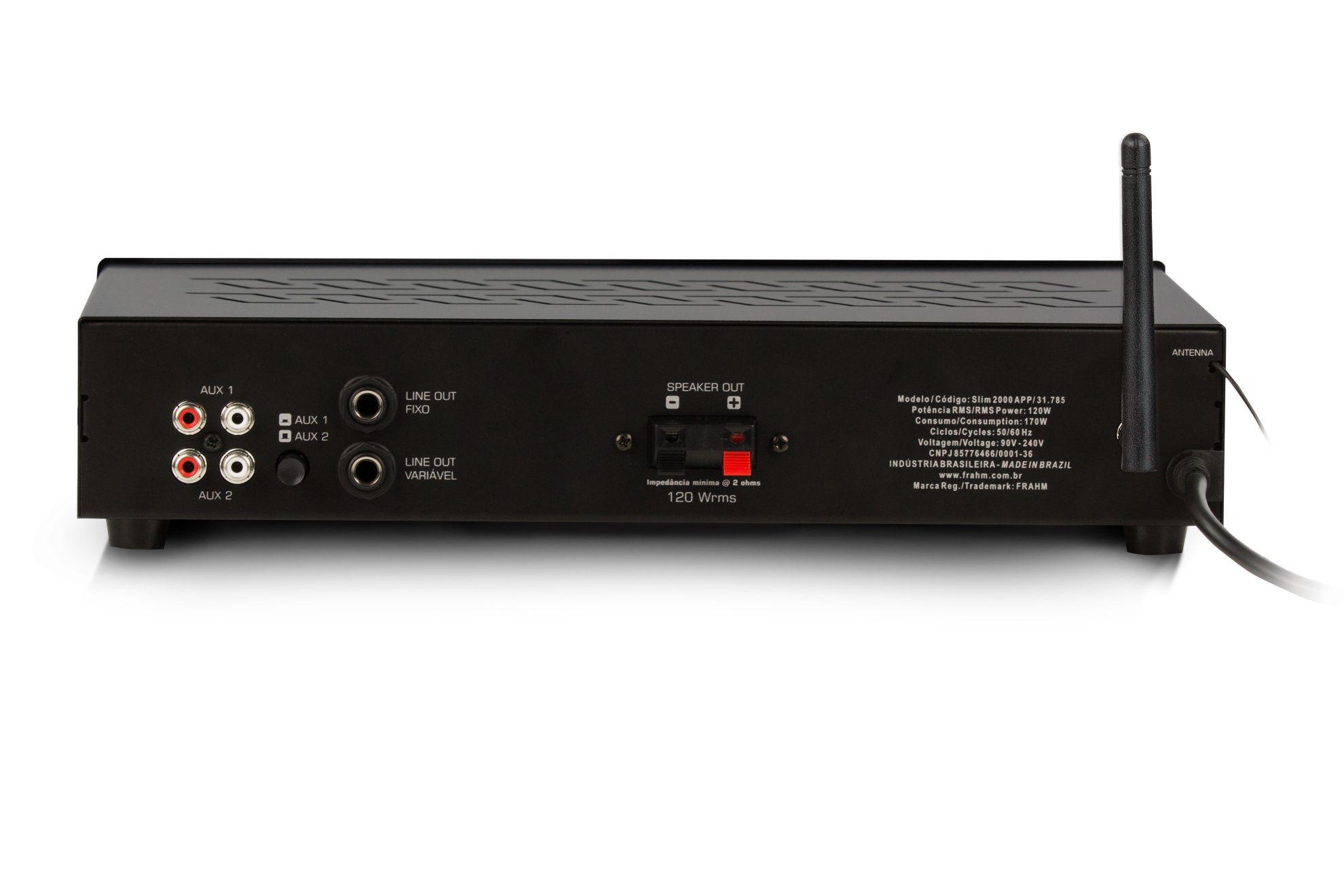 Amplificador FRAHM SLIM2000 APP
