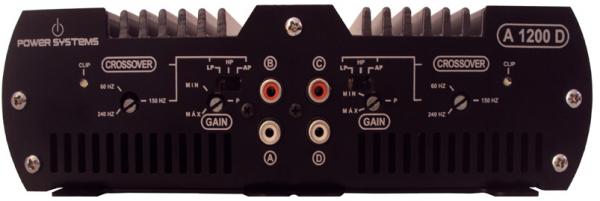 Amplificador Power Systems A1200 D com 4 Canais