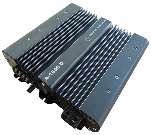 Amplificador Power Systems A1600 D com 2 Canais