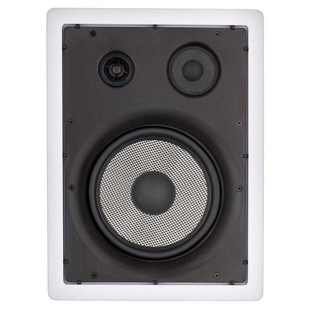 "Caixa Retangular 8"" 3 Vias 100W LOUD LHT TW-100"