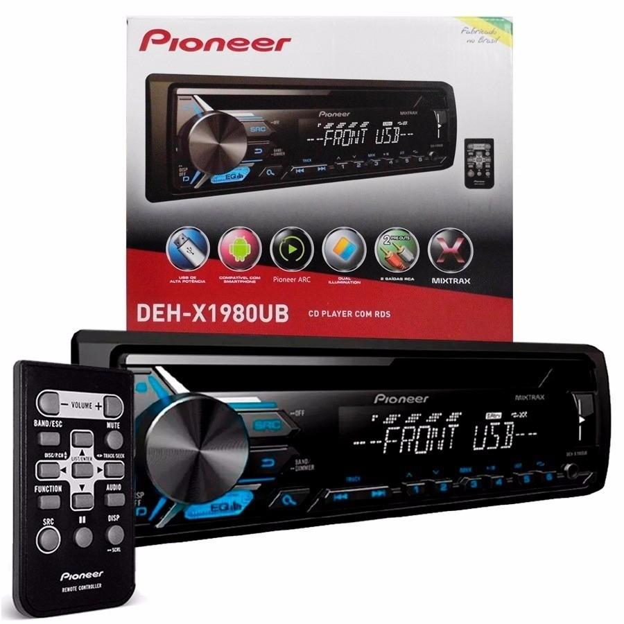 CD Player Pioneer DEH-X1980UB