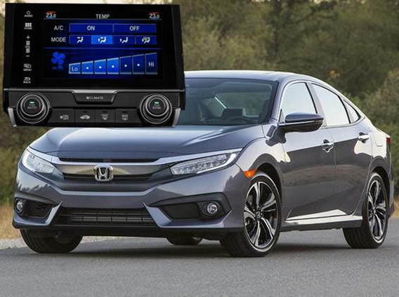 Central Multimídia Winca Honda Civic 2017