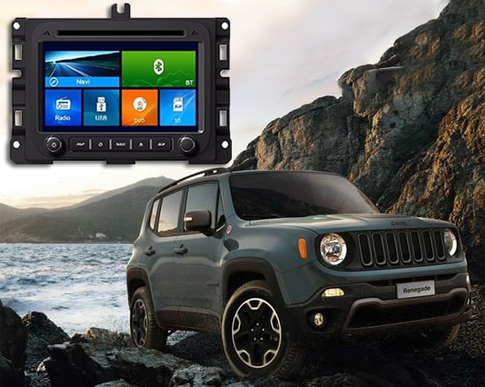 Central Multimídia Winca Jeep Renegade