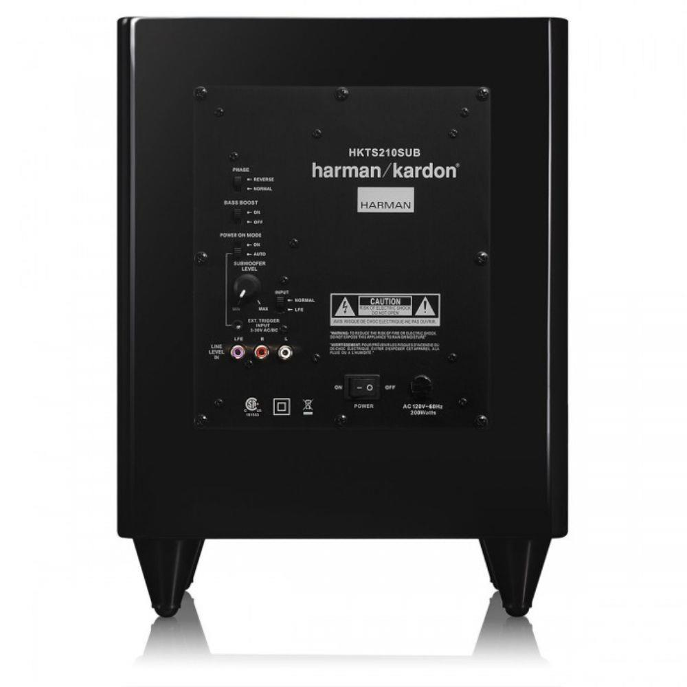 subwoofer harman kardon hkts 210 sub 8 39 yakamotho som. Black Bedroom Furniture Sets. Home Design Ideas