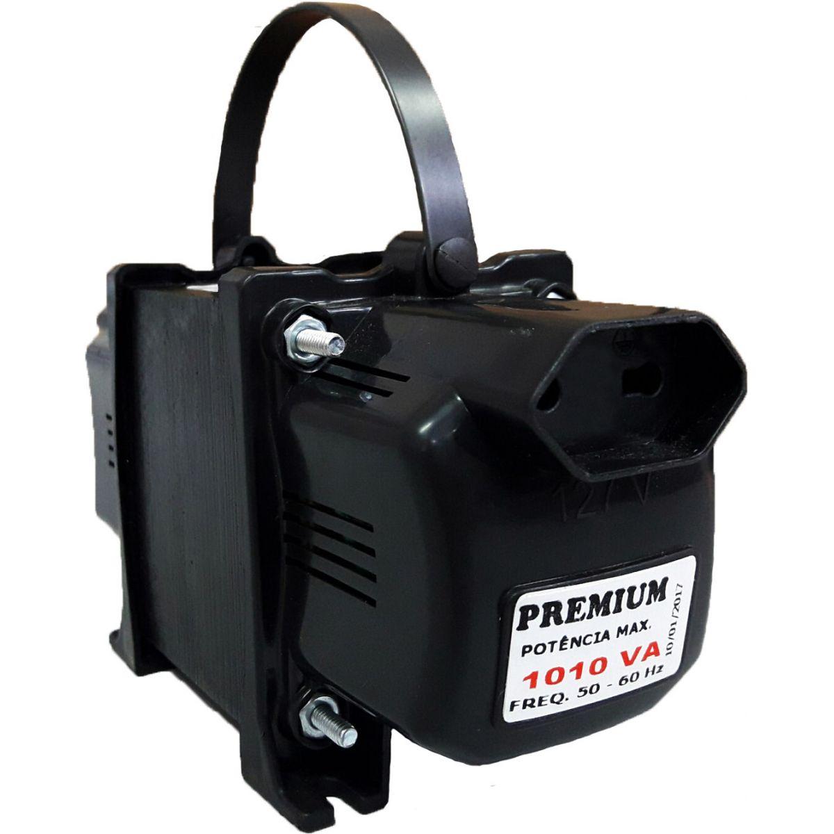 Transformador Fiolux Premium 1010/1050VA Bivolt 110/220 e 220/110 Ref: 1010/1050 VA