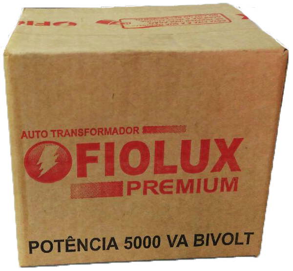 AUTO TRANSFORMADOR FIOLUX PREMIUM 5000B VA BIVOLT