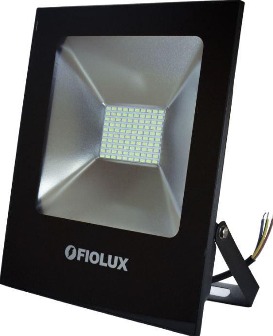 Refletor Led Smd 10 W FIOLUX Holofote Bivolt 110/220 a Prova d'água IP65