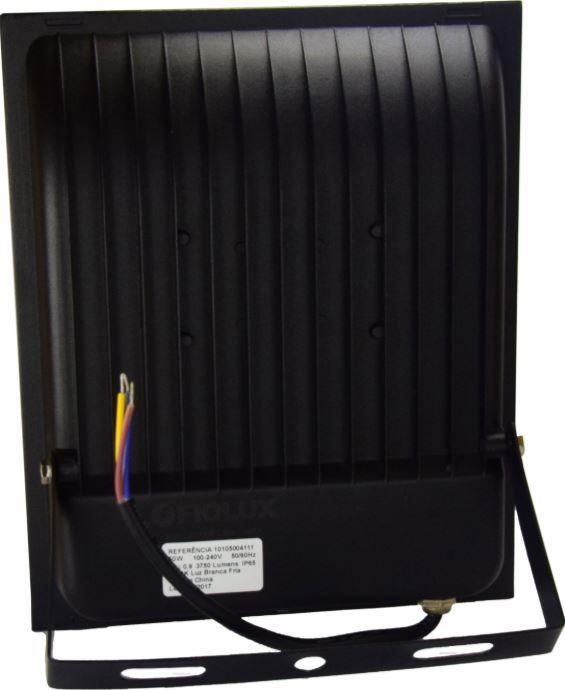 Refletor Led Smd 20 W FIOLUX Holofote Bivolt 110/220 a Prova d'água IP65