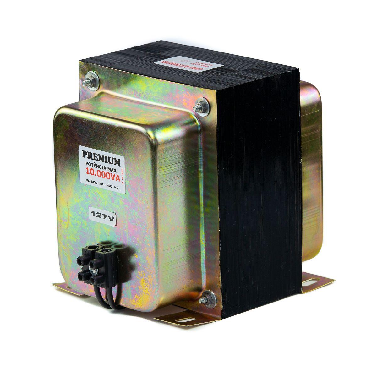 Transformador Fiolux Premium 10000VA Bivolt 110/220 e 220/110 Ref: 10000 VA