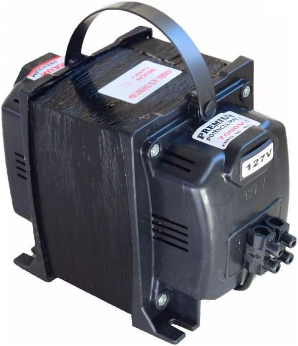Transformador Fiolux Premium 7000VA Bivolt 110/220 e 220/110 Ref: 7000 VA