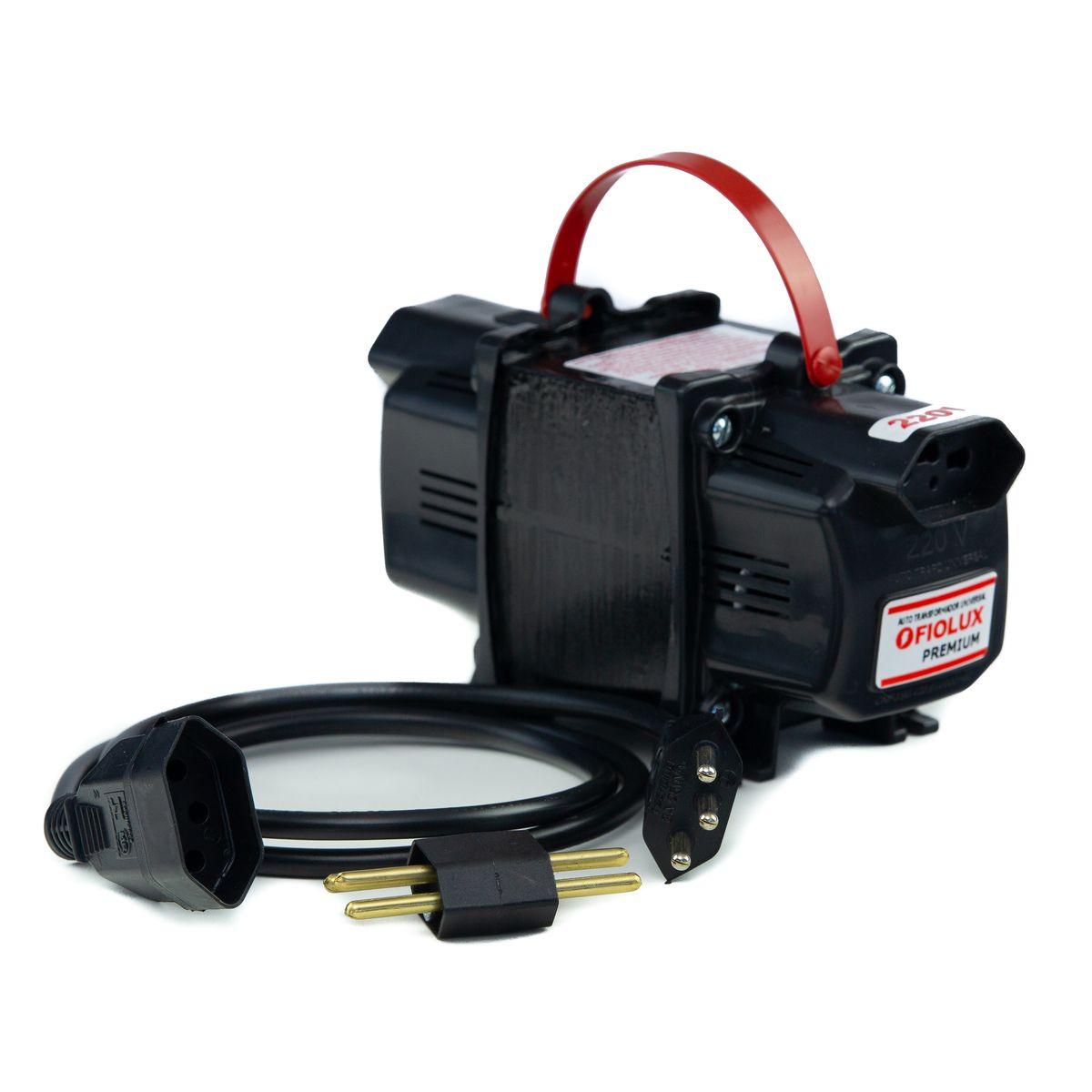 Transformador Fiolux Premium Tripolar 2000VA Bivolt 110/220 e 220/110 Ref: 2000 VA