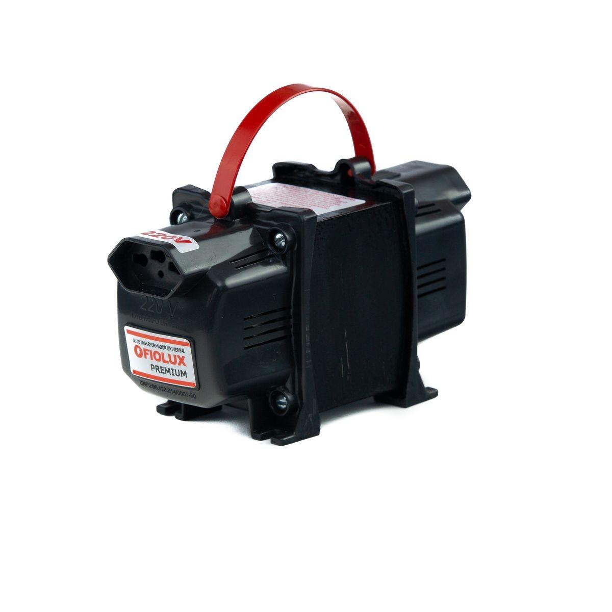 Transformador Fiolux Premium Tripolar 200VA Bivolt 110/220 e 220/110 Ref: 200 VA