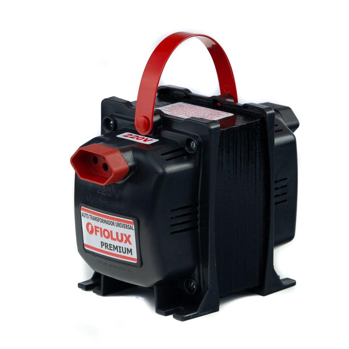 Transformador Fiolux Premium Tripolar 5000VA Bivolt 110/220 e 220/110 Ref: 5000 VA