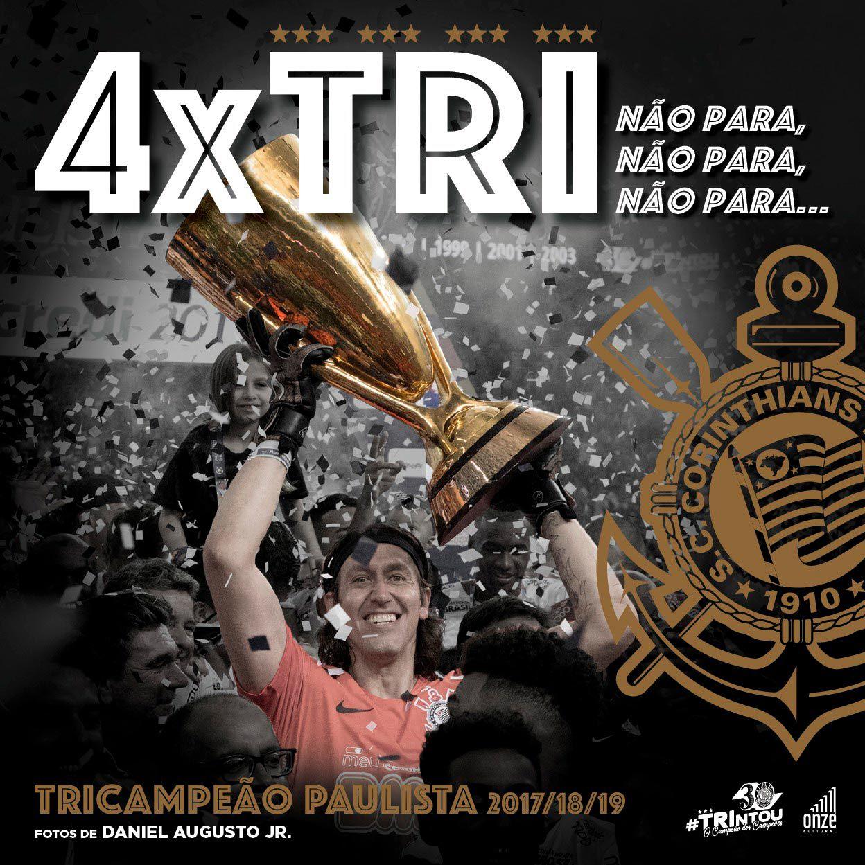4 x TRI – Corinthians Tricampeão Paulista 2017/18/19