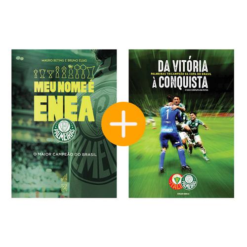 CÓPIA - Combo Livros MEU NOME E ENEA + Da Vitoria A Conquista