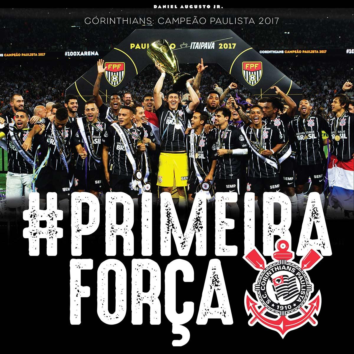 Corinthians #PrimeiraForça  - Livraria Esportiva