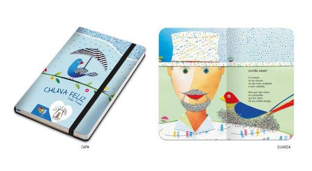 Caderninho Chuva Feliz