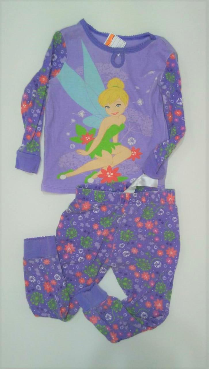 Conjunto pijama infantil Disney - tamanho 3