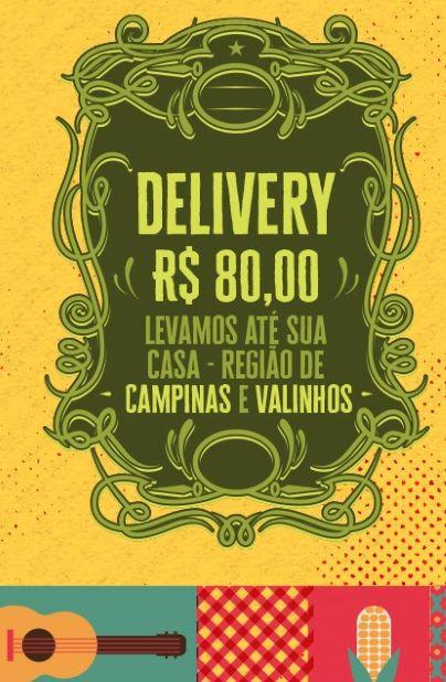 Kit Arraiá d´ajuda - Delivery (entrega na casa em Valinhos e Campinas)