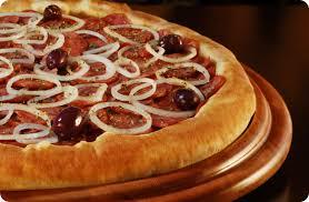 Pizza d´ajuda - Calabresa