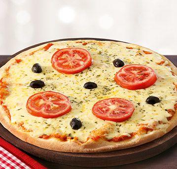 Pizza d´ajuda - Mussarela