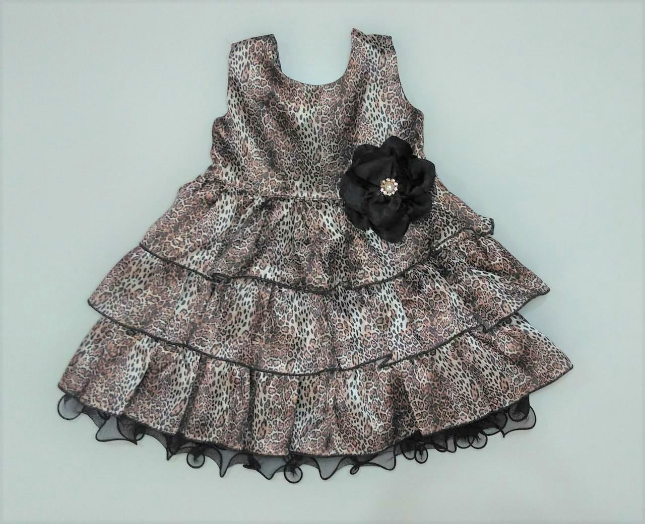 Vestido Infantil estampado Tamanho 1