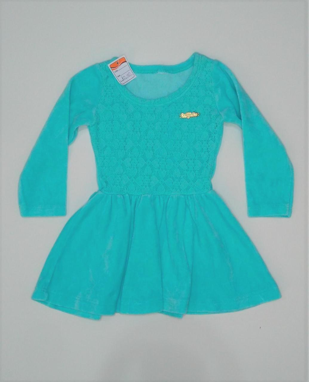 Vestido infantil - tamanho 9 a 12 meses