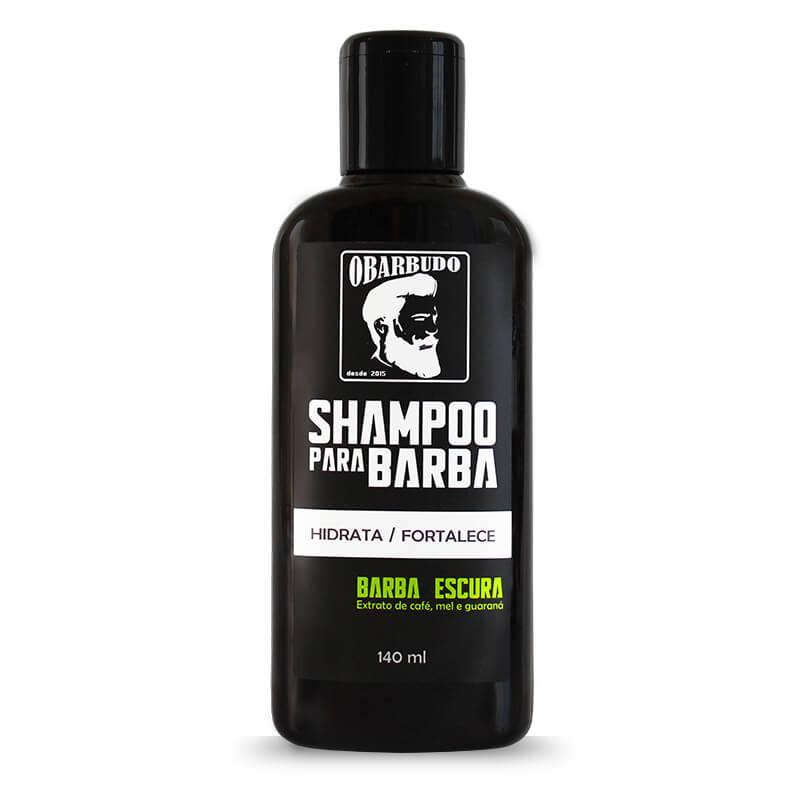 Trio Barba Escura | Shampoo + Balm + Óleo