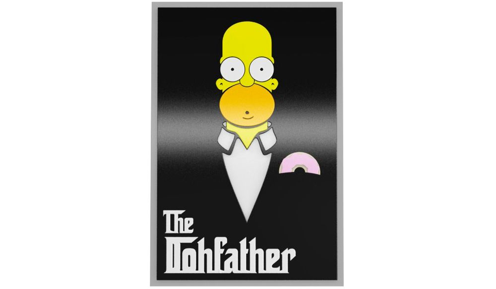 QUADRO HOMER THE DOHFATHER
