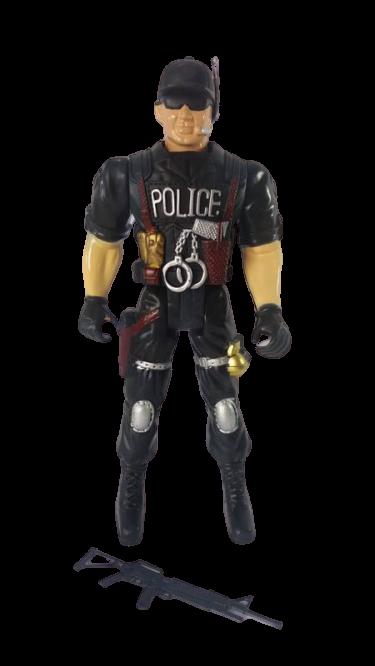BONECO POLICIAL 38CM