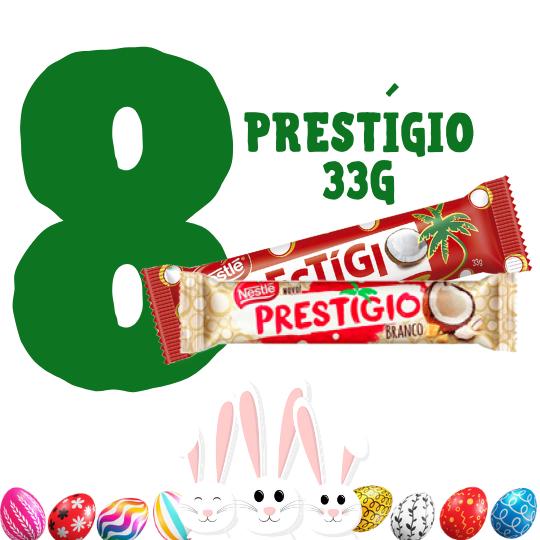 Kit Páscoa - 8 chocolates Prestígio