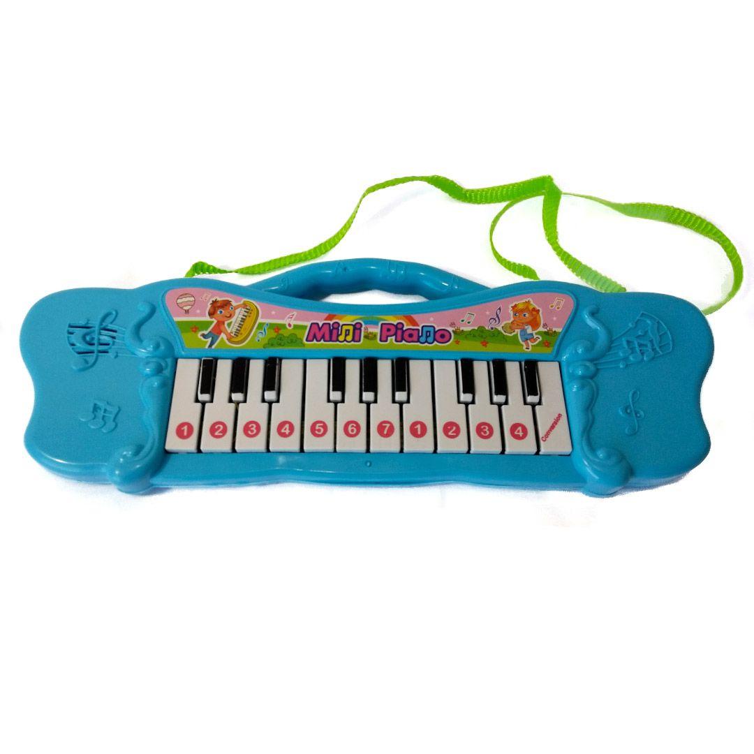 PIANO MUSICAL DE PLÁSTICO COM ALÇA