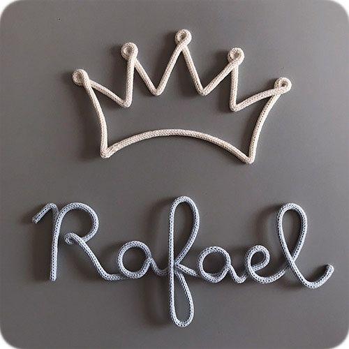 Nome Pendurado na Coroa