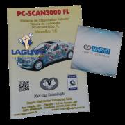 Atualização scanner automotivo NAPRO PC SCAN 3000 USB versão 11