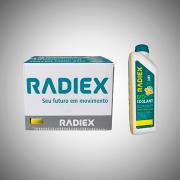 CAIXA 16 Radiex Bio Coolant Superconcentrado Amarelo R1883