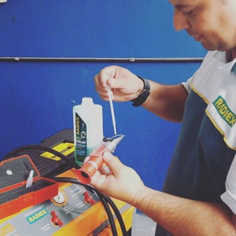 Aditivo Radiador - RADIEX Bio Coolant Amarelo Super Concentrado 1 Litro R-1883 - CAIXA COM 16 UNIDADES