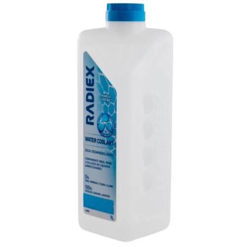 Água Desmineralizada RADIEX 1 Litro